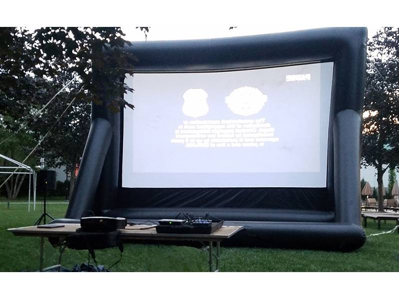 16' Inflatable Movie Screen