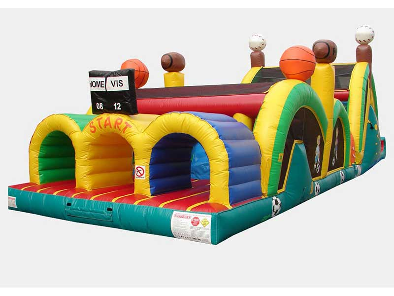 3 Lane Mega Thrill Sport Obstacle Course