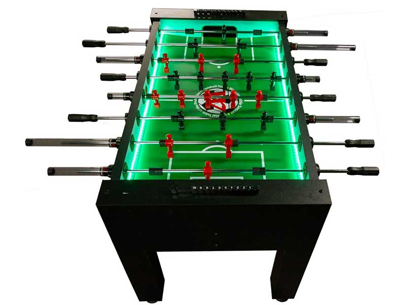 Led 4 Player Foosball Table