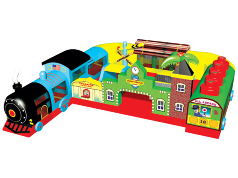 Fun Express Train Play Station