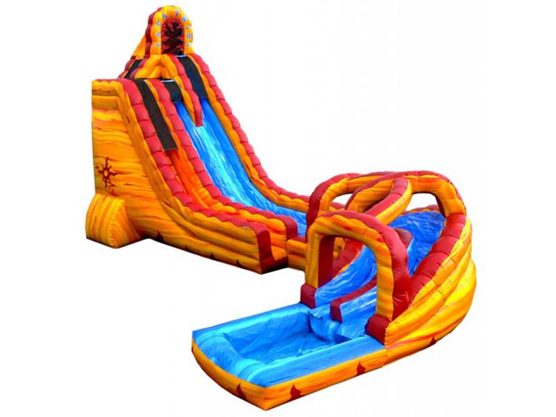 27' Lava Twist Slide