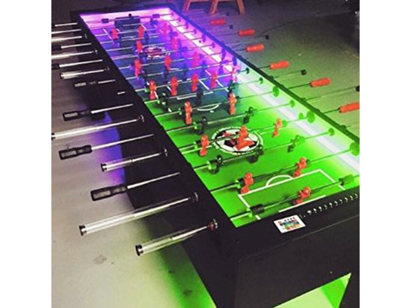 LED 8 Player Foosball Table