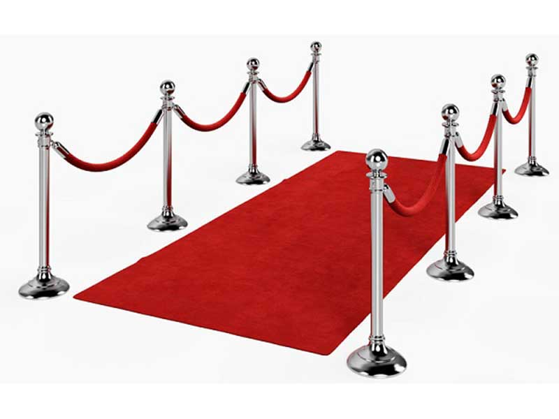 Red Carpet & Stanchions **NEW**
